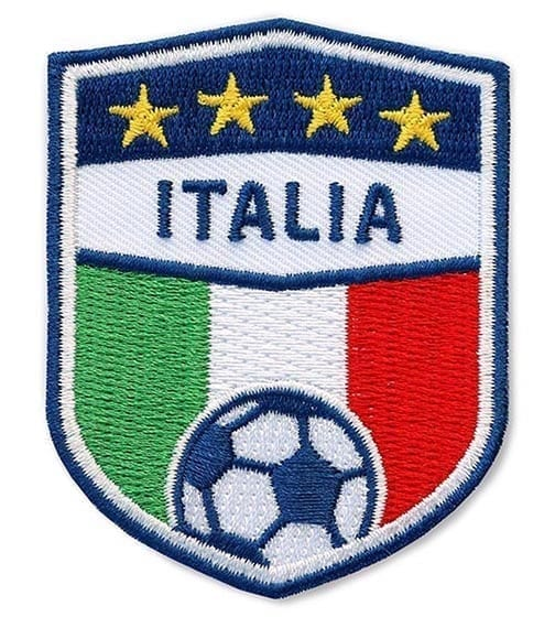 Fussball Italia Italien Flagge