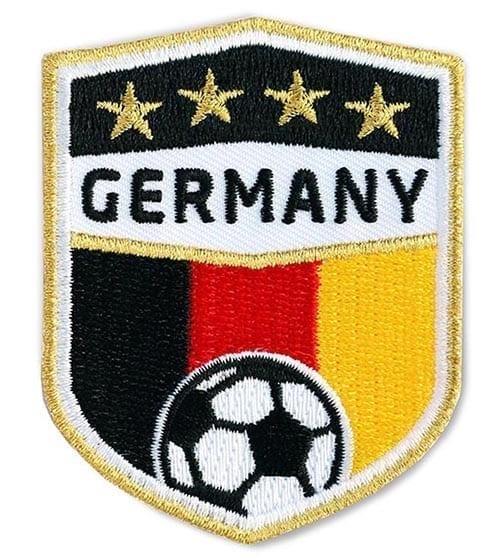 Fussball Germany Deutschland Flagge Goldstick