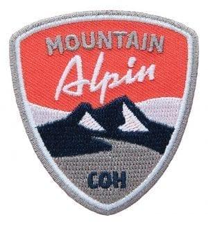 Aufnäher für alpines Bergsteigen