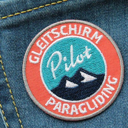 Abzeichen für Gleitschirm-Piloten