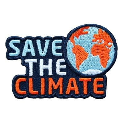 Save the Planet Abzeichen