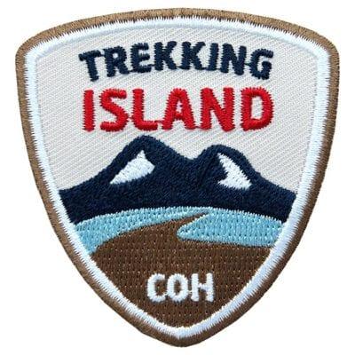 Abzeichen für Island