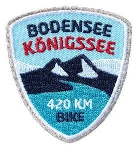 Abzeichen Bodensee-Königsee-Radweg