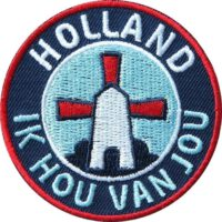 Holland Niederlande Aufnäher, Patch, Abzeichen, Applikation, Aufbügler zum aufnähen oder aufbügeln, hochwertig gestickt.