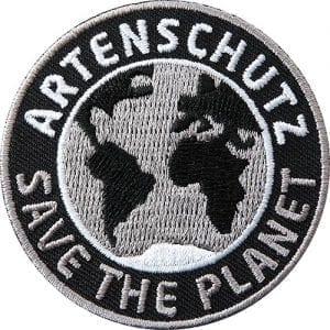 artenschutz-save-planet-coh-club-of-heroes-patch-abzeichen-aufnaeher-aufkleber-sticker-emblem-gestickt-stickerei