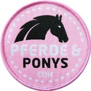 pony-ponys-reiten-pferd-pferde-reiter-kinder-reitstall-lernen-coh-club-of-heroes-patch-abzeichen-aufnaeher-aufkleber-sticker-emblem-gestickt-stickerei-land-flagge-wappen