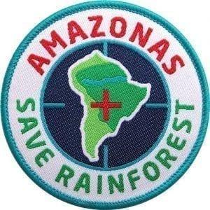 amazonas-regenwald-rainforest-schutz-abzeichen-patch-aufnaeher-logo-aufbuegler-sticker-flicken-club-of-heroes-coh