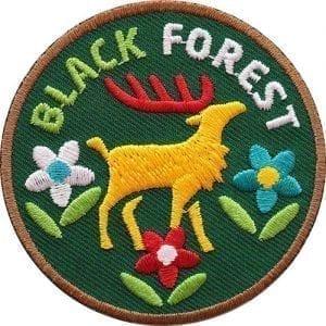 black-forest-schwarzwald-nationalpark-naturpark-hirsch-geweih-forst-abzeichen-patch-aufnaeher-logo-aufbuegler-sticker-flicken-club-of-heroes-coh