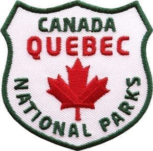 kanada-quebec-quebek-ahorn-reise-wildnis-nationalpark-abzeichen-patch-aufnaeher-logo-aufbuegler-sticker-flicken-club-of-heroes-coh