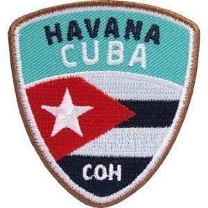 kuna-cuba-havana-havanna-karibik-insel-reise-abzeichen-patch-aufnaeher-logo-aufbuegler-sticker-flicken-club-of-heroes-coh