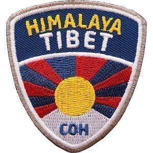 tibet-himalaya-asien-reise-bergsteigen-abzeichen-patch-aufnaeher-logo-aufbuegler-sticker-flicken-club-of-heroes-coh