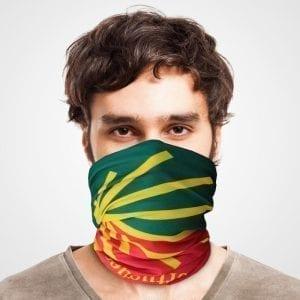 Funktionstuch als Mundschutz, Maske, Schutzmaske / Jakobsweg Camino Portugues