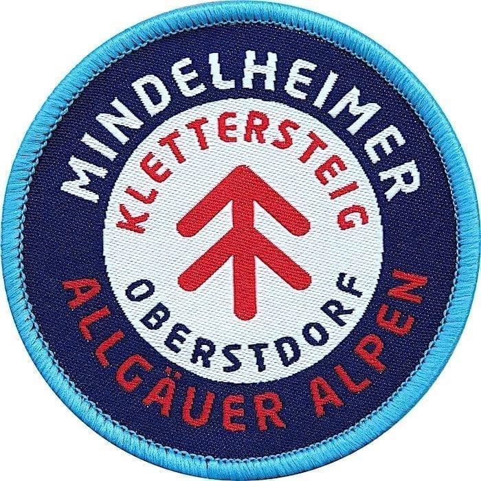 Mindelheimer Klettersteig Allgäuer Alpen, Aufnäher, Patch, Emblem