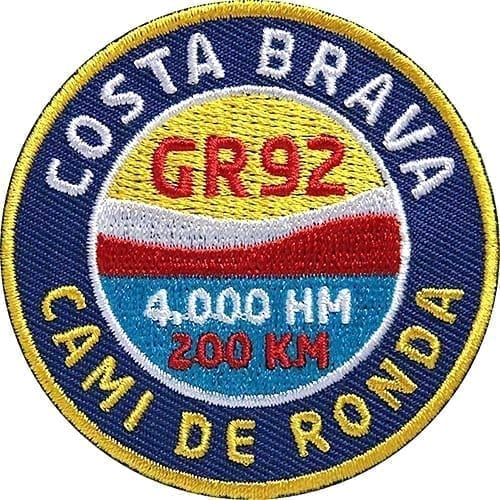 Cami-De-Ronda-Gr92-Costa-Brava Aufnäher von Club of Heroes.