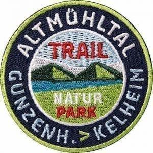 Altmühltal-Bayern-Naturpark Aufnäher von Club of Heroes.
