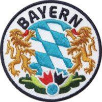 Bayern-Bayerisch-Freistaat-Löwe Aufnäher von Club of Heroes.
