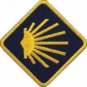 coh-jakobsweg-camino-santiago-buen-camino-muschel-jakobsmuschel-flagge-flagg-wappen-patch-abzeichen-aufnäher-aufbügler-bügelbild-flicken-patches-club-of-heroes-coh