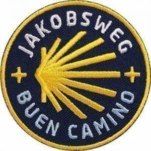 jakobsweg-camino-santiago-buen-camino-muschel-jakobsmuschel-flagge-flagg-wappen-patch-abzeichen-aufnäher-aufbügler-bügelbild-flicken-patches-club-of-heroes-coh