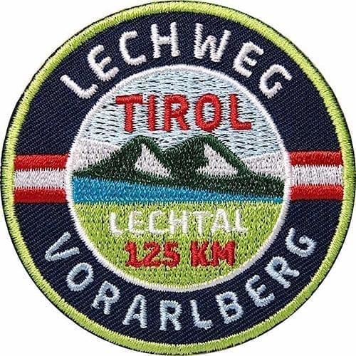 Lechweg-Lechtal-Lech-Vorarlberg Aufnäher von Club of Heroes.