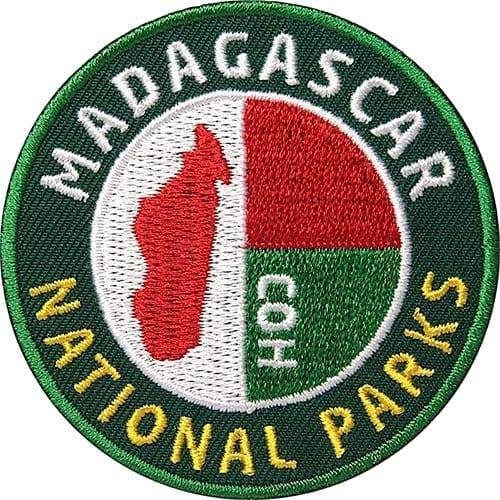 Madagascar-Madagaskar-Afrika-Nationa- Aufnäher von Club of Heroes.
