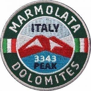 Marmolada-Marmolata-Italien Aufnäher von Club of Heroes.