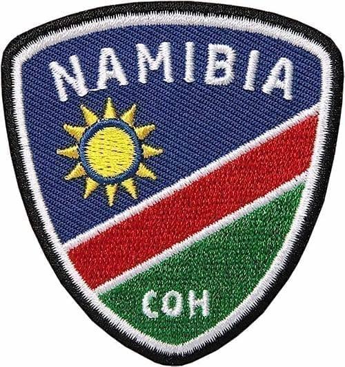 Namibia-Afrika-Namib-Flagge-Flagg - Aufnäher von Club of Heroes.