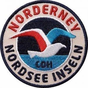 norderney-nordsee-insel-ostfriesisch-ostfriesland-möve-küste-deutsche-bucht-wattenmeer-watt-nationalpark-wappen-patch-abzeichen-aufnäher-aufbügler-bügelbild-flicken-patches-club-of-heroes