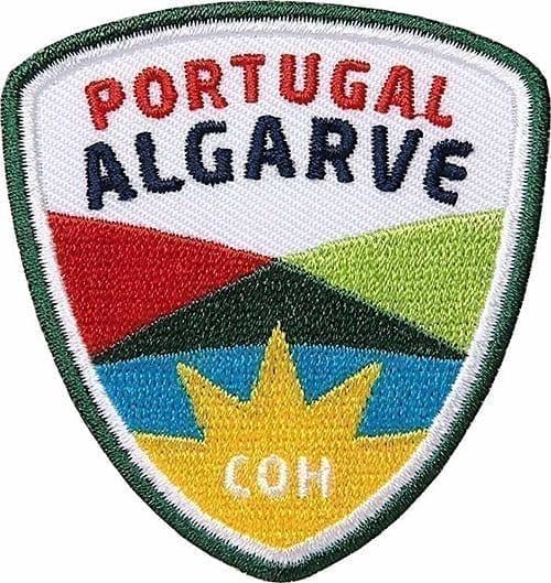 Portugal-Algarve-Küste-Atlantik Aufnäher von Club of Heroes.