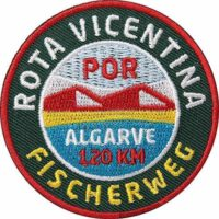 Rota-Vicentina-Fischerweg-Prtugal-Algarve Aufnäher von Club of Heroes.