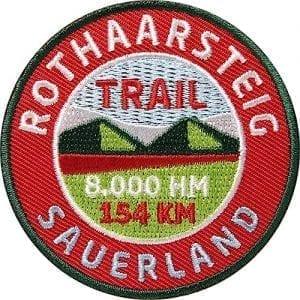 Rothaarsteig-Sauerland-Wanderweg Aufnäher von Club of Heroes.