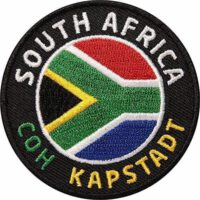 Südafrika-South-Africa-Afrika-Kapstadt - Aufnäher von Club of Heroes.