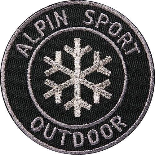 Outdoor Alpin Winter-Sport Aufnäher von Club of Heroes.