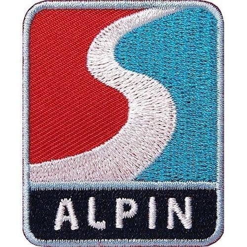 Alpin Wintersport-Sport Aufnäher von Club of Heroes.