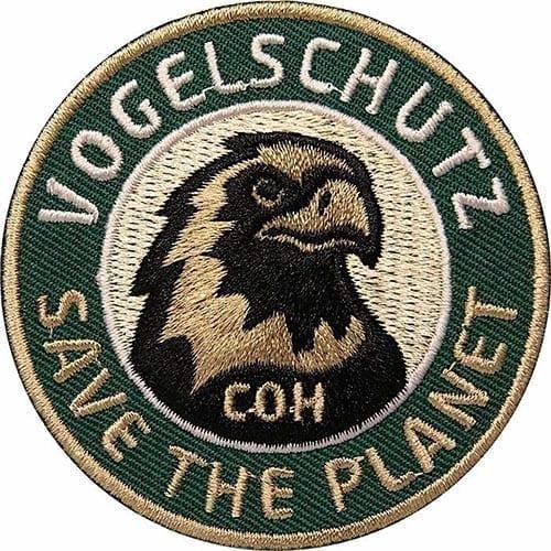 Vogelschutz Aufnäher von Club of Heroes.