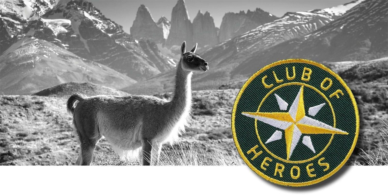 Chile Patagonien Torres del Paine / gestickte Aufnäher Patches und Bügelflicken zum Aufnähen oder Aufbügeln von Club-of-Heroes