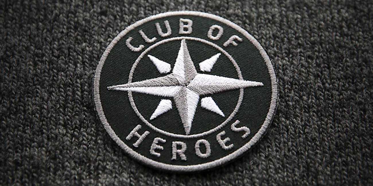 Club of Heroes - Shop für Aufnäher und Patches in Marken-Qualität
