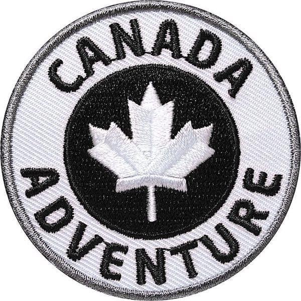 Canada Kanada Adventure Outdoor Aufnäher von Club of Heroes.