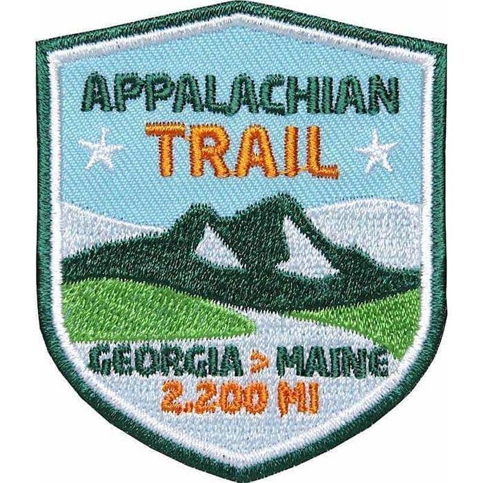Appalachian Trail USA von Georgia nach Maine, Wanderweg, Trekking, Aufnäher, Patch, Patches, Flicken, Bügelbild
