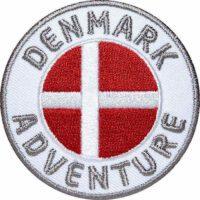 Dänemark, Denkart Aufnäher Patches, Flagge Fahne, Flagg-Patch