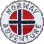 Norwegen, Norway Aufnäher Patches, Flagge Fahne, Flagg-Patch