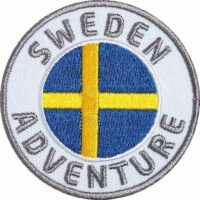 Schweden Sweden Aufnäher Patches, Flagge Fahne, Flagg-Patch