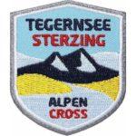 Tegernsee - Sterzing, Fernwanderweg, Alpencross, Alpenüberquerung, Wanderweg, Trekking, Aufnäher, Patch, Patches, Flicken, Bügelbild