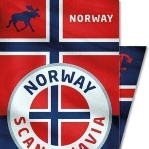 Norwegen-Norway-Elch-Skandinavien-Outdoor-Club-of-Heroes-Bandana-Mundschutz-Maske-Multi-Funktions-Tuch