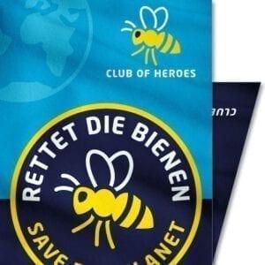 Rettet-die-Bienen-Insekten-Biene-Naturschutz-Club-of-Heroes-Bandana-Mundschutz-Maske-Multi-Funktions-Tuch