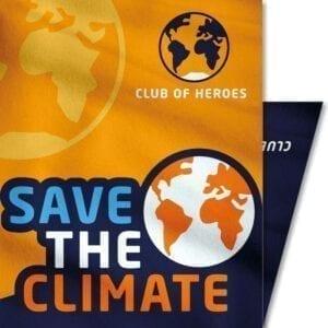 Save-the-Climate-Klimaschutz-Klima-Umwelt-Club-of-Heroes-Bandana-Mundschutz-Maske-Multi-Funktions-Tuch