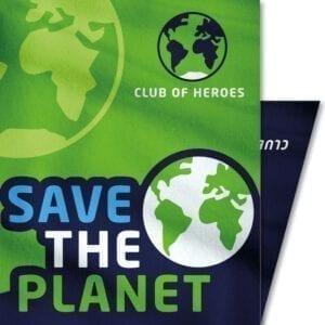 Save-the-Planet-Erde-Welt-Umwelt-Naturschutz-Club-of-Heroes-Bandana-Mundschutz-Maske-Multi-Funktions-Tuch