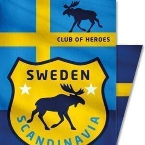 Schweden-Sweden-Skandinavien-Elch-Outdoor-Club-of-Heroes-Bandana-Mundschutz-Maske-Multi-Funktions-Tuch