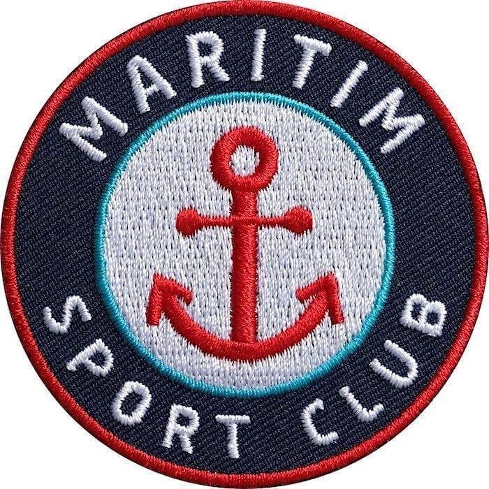 Anker-Maritim-Meer-Wassersport Aufnäher von Club of Heroes.