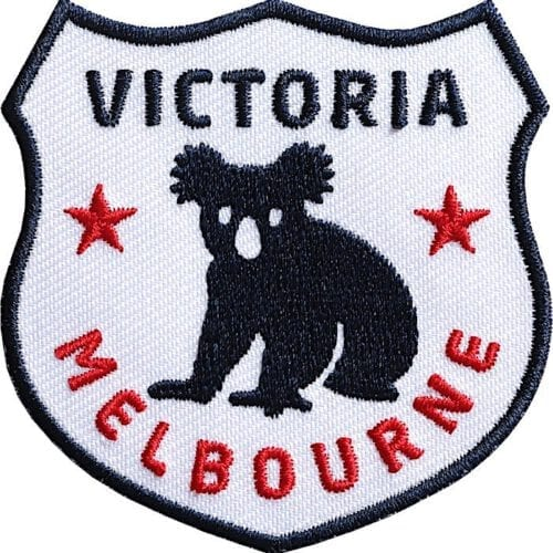 Australien-Victoria-Melbourne Aufnäher von Club of Heroes.