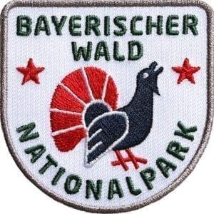 Bayerischer-Wald-Auerhan-Nationalpark Aufnäher von Club of Heroes.